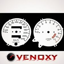 Honda CB 750 Seven Fifty UNIQUE Fond de Compteur BLANC