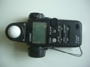 Sekonic L558 Dualmaster Light Meter and Carry Case