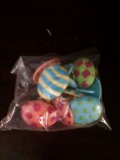Easter Party Egg Shape Rings NIP Favors Cake Toppers 12