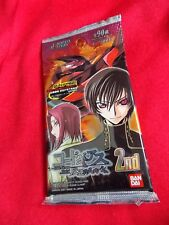 CODE GEASS Lelouch of the Rebellion TRADING CARDS 2ND / 10 cards pack BANDAI