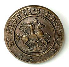 More details for vintage st georges hospital nurses badge original 24 mm diameter