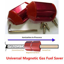 Universal Magnetic Gas Oil Fuel Saver Performance For Truck&Car Red Economizer