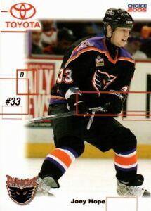 Joey Hope 2004-05 Philadelphia Phantoms