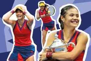 Nike NikeCourt Red Blue Dry Fit Slam NY Tank Skirt Set Medium ASO US Open Tennis