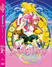 DVD ANIME ~ENGLISH VERSION~ SAILOR MOON CRYSTAL Sea 2 Vol.1-13 End + FREE DVD