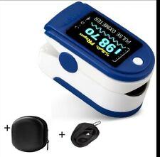 Oxymètre de pouls digital saturomètre pulsomètre mesure doigt SpO2 PR Moniteur
