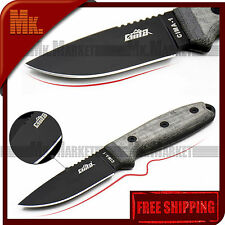 Straight Blade Knife CIMA-1 | 7Cr17MoV 58 HRC Oil Hardening | Authentic CIMA