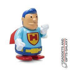 CLOCKWORK PLASTIC SUPERHERO WIND UP toy novelty gift party bag fillers childs