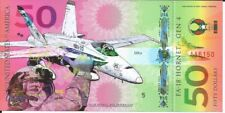 Usa banknote 50 dollars 2017 fighter planes