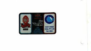 NICE AUSTRALIA JOY OAKY CREEK COAL CO. COAL MINING STICKER # 1516