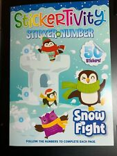Sticker Book Paperback Children Young Adult Fiction Books