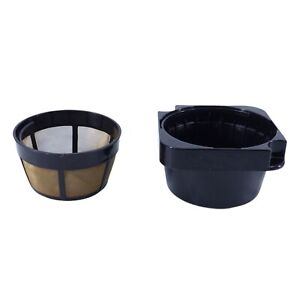 Cuisinart Filter Basket + Gold Tone Filter for DCC-3000 Coffeemaker - Used Parts