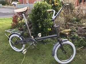 Vintage 1966 Raleigh RSW 16 Compact folding bicycle