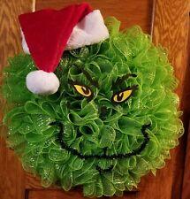 The Grinch Christmas Wreath Door Decor