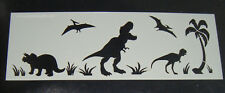 Dinosaur Cake decorating stencil Airbrush Mylar Polyester Film