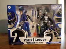 """New Power Rangers Lightning 6"""" Figure 2-Pack SPD A vs B Squad Blue Ranger Read"""