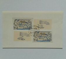 1977 European Co-operation for Peace Block Stamps Czechoslovakia