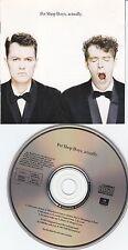 Pet Shop Boys - Actually RARE Club Edition 17697-4 Top-Zustand RARE