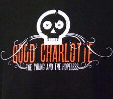 Good Charlotte Young & Hopeless Pop Punk Rock Band 2002 Concert Tour Shirt Xl