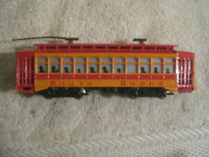 Bachmann Brill Trolley, South Shore Lines #34 HO Scale  TESTED