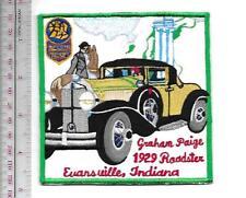 Vintage Automobile Graham Paige 1929 Roadster Promo Evansville, Indiana Vel hook