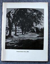 1979 Teufels Fußabdrücke alte Norton Massachusetts yelle Geschichte Bristol County MA