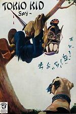 1941 WW2 USA AMERICA JAPAN PACIFIC WAR NAZI AXIS TOKIO KID DOG KNIFE ii Postcard