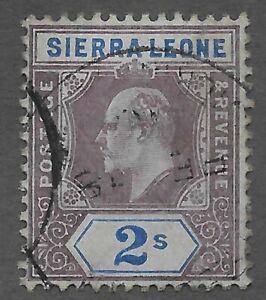 Sierra Leone (1907) - Scott # 100,   Used