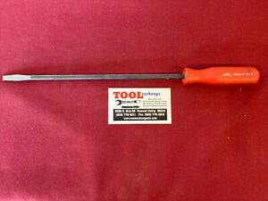 "MAC Tools - 10"" Long Regular Tip Screwdriver, Red Handle , Part# PN10AR USA!"