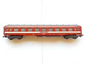 Voiture Lima Voyageurs SNCF Marquage Le Capitole Rouge et Blanc Référence 9117