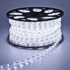 Tubo Luminoso A Led 50 Metri Bianco Interno Ed Esterno Con 8 Giochi Di Luce