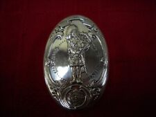 SGS5) The Guards Regiments Scots Guards Sterling Silver Snuff Box