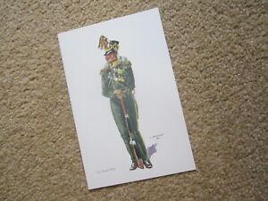 Social Service de l'Armee Belge. J Demart, 1st Foot Chasseurs 1831 MINT