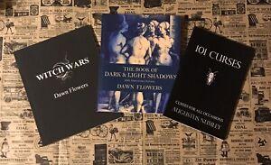 3 BLACK MAGICK books, 101 Curses, Occult Lore, Voodoo, Satanism, Witchcraft