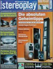 Stereoplay 11/08 Cayin A 100 T, Unison Unico 100, Ortofon SPU, Shelter 301 II