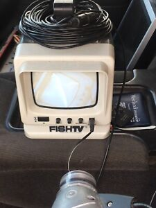"5"" Underwater Fish Tv Camera With Night Vision."