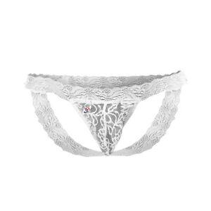 Joe Snyder Low Rise Jockstrap Lace-White Lace-One Size White Lace One Size JS...