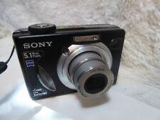 Sony Cyber-shot DSC-W15 Digital Camera 5.1 MP 3 X Zoom óptico + Baterías Nuevas