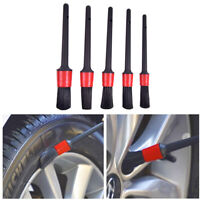 7pcs Car Wheel Cleaning Brush Tool Tire Washing Clean Alloy Soft Bristle Cleaner