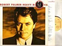 ROBERT PALMER heavy nova (original & lyric inner) LP EX/EX- 7 48057 1, vinyl