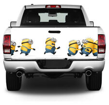 Minions Full Color Tailgate Wrap, Truck Decal, Tailgate Sticker, Car Decals MW41