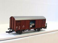 Roco H0 ged. Güterwagen Gms DB (TR455)