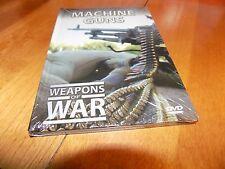 WEAPONS OF WAR MACHINE GUNS Gun Automatic Weapons Firearms Military DVD NEW