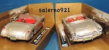 1957 Chevy Corvette Red/Grey Convertible 1:43(O)Scale For Lionel/Mth/K-Line