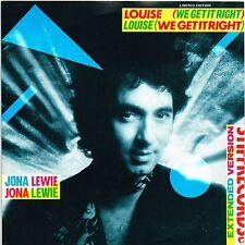 "JONA LEWIE louise AUSTRALIAN STIFF 10"" 45rpm X-13069_orig 1981 limited edition"