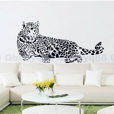 Large Leopard Wall stickers decals Removable home DIY decor mural