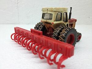 1/64 ERTL FARM COUNTRY RED MOUNTED CULTIVATOR