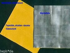 100 x Trimmblei Walzblei Bleifolie Bleiplatte selbstklebend 15,0 x 15,0 cm x 1mm