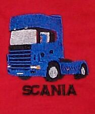 Scania Topline Embroidered on Polo Shirt