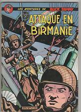 Buck Danny 6.Attaque en Birmanie.CHARLIER / HUBINON.1967 CV2A